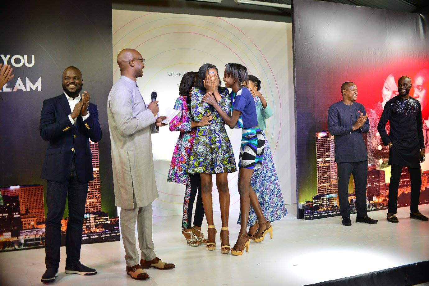 What we came for. Chisom is Dare2Dream Season 3 winner