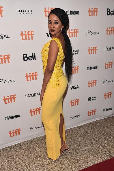 Adesua serving us a sweet look in her yellow dress (Image via Getty)