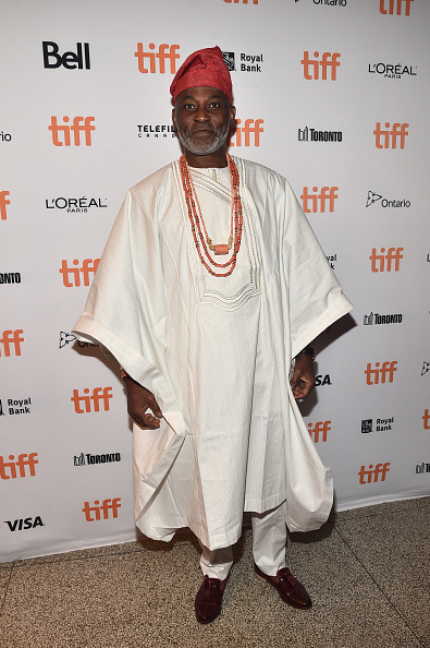 Wavvvves, Richard Mofe-Damijo bringing some Yoruba life to the party.(Image via Getty)