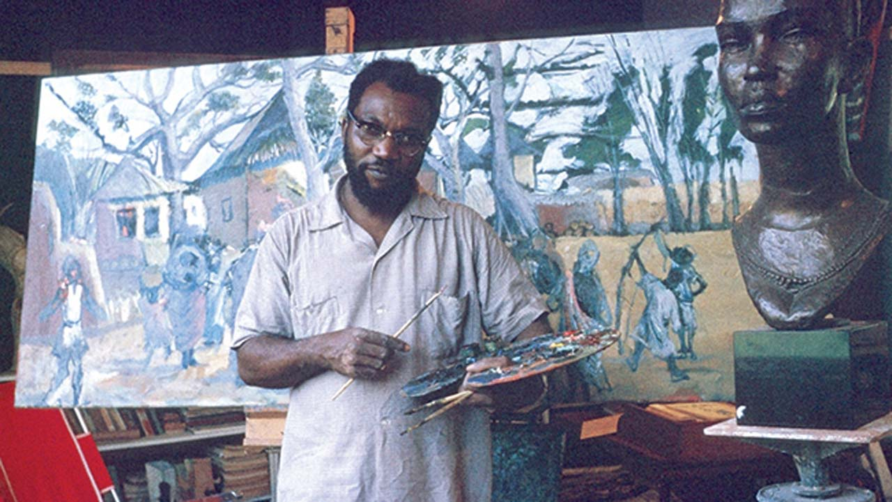 5 contemporary artists who made art a profession in Nigeria - FlexxZone
